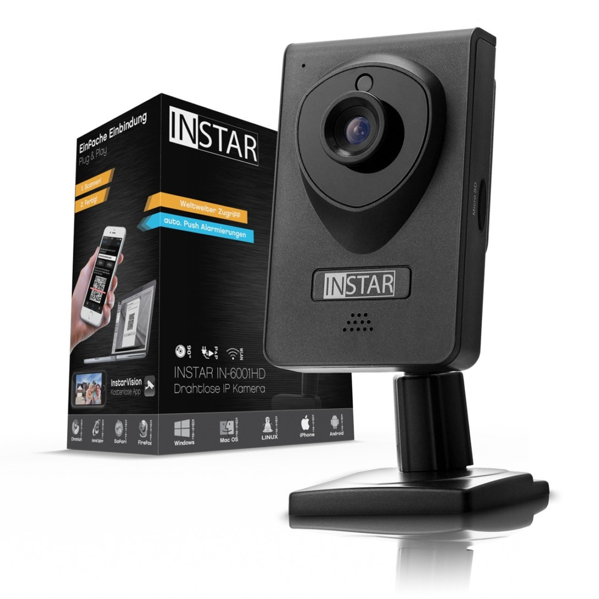 INSTAR IN-6001HD - Überwachungskamera für den Innenbereich