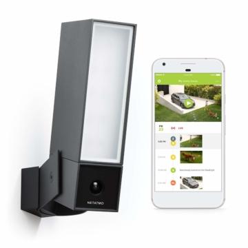 Netatmo Presence Überwachungskamera für den Außenbereich