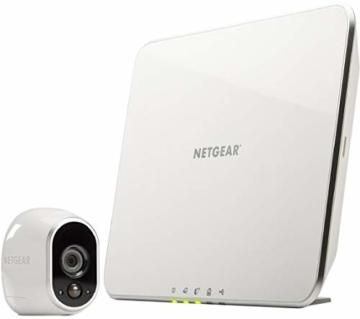 Arlo HD WLAN Überwachungskamera, 1er Set, kabellos, Innen / Aussen, Bewegungsmelder, Nachtsicht, Smart Home, CCTV, wetterfest, VMS3130, Weiß - 8
