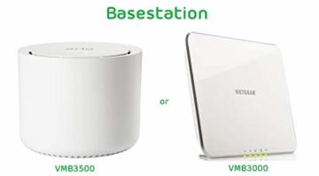 Arlo HD WLAN Überwachungskamera, 1er Set, kabellos, Innen / Aussen, Bewegungsmelder, Nachtsicht, Smart Home, CCTV, wetterfest, VMS3130, Weiß - 10